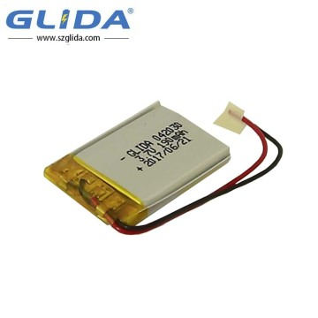 Li-polymer Battery 3.7v with 50mAh ODM CE ROHS