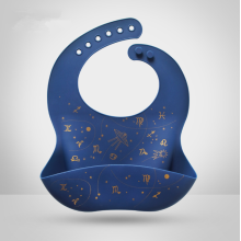 Keeps Stains Off Waterproof Silicone Baby Bib