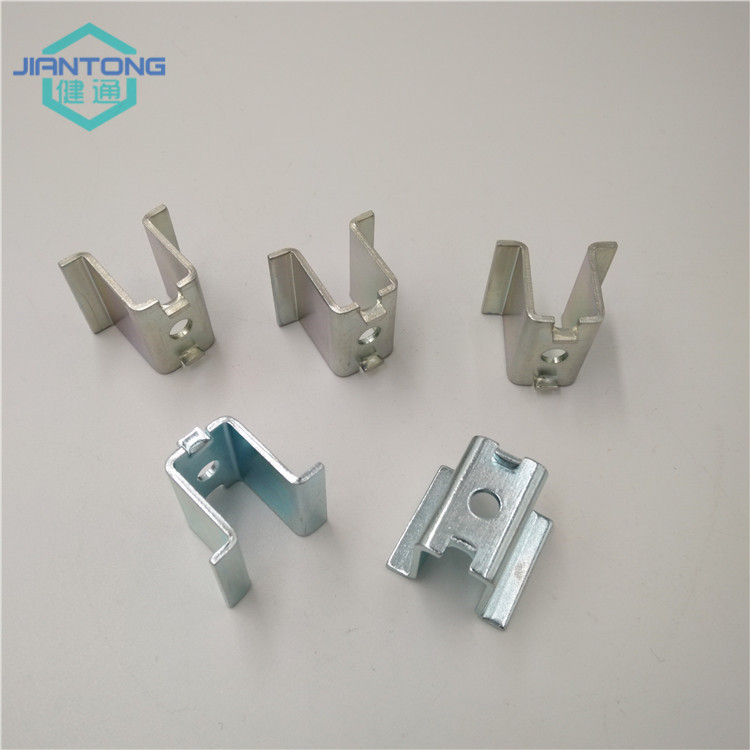custom made zinc plated metal stamping parts (1)