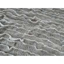 Knitted small ripple Blanket
