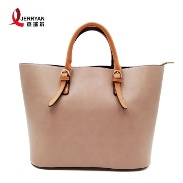 Hot Pink Female Classic Handbags Tote Bags