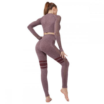 Women 2 Pieces Tracksuit Workout Sets