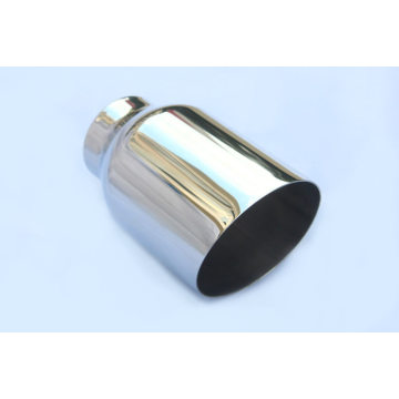 Round Weld-On SUV Exhaust Tips
