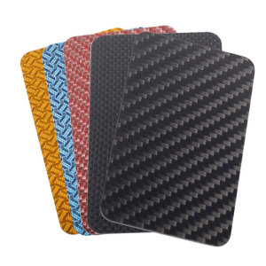 Carbon fiber business card