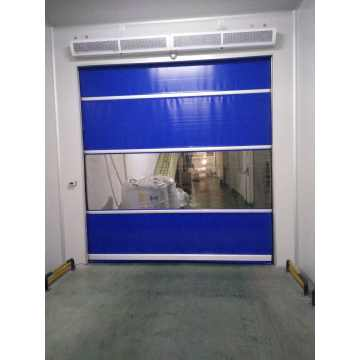 Automatic Internal PVC Fabric Fast Rolling Industry Door