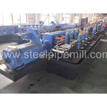 ERW steel suqare pipe making machine