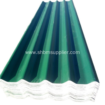 Corrugated Fiberglass MgO Roof Panels Sizes