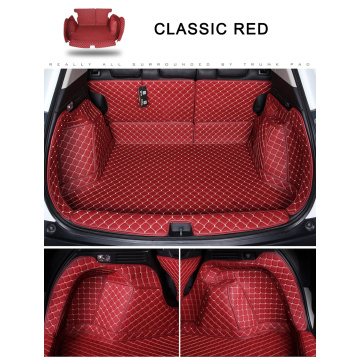 Luxus Leder 5D Cargo Liner Kofferraummatten All-Covered