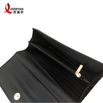 Hand Small Leather Clutch Long Purse