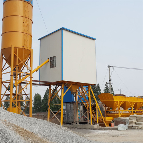 Ready mix concrete batching plant Italy
