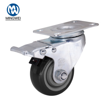 "3"" Plate Industrial Furniture Caster Wheels"