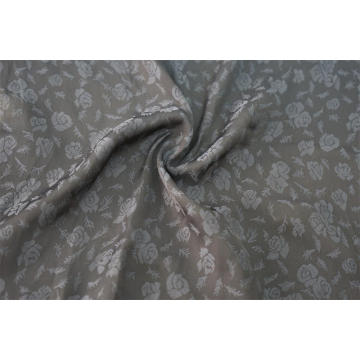 100% Polyester Rose Flower Jacquard Sea Island Fabric