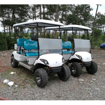 4 seats yamaha motorized golf carts