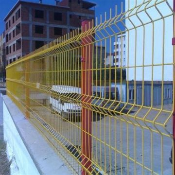 Curved Welded Wire Mesh hotdipped galvanized or electrical GI and PVC