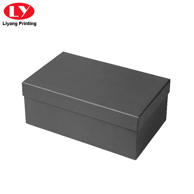 Luxury Black Shoe Box