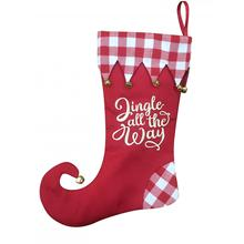Christmas stocking with magic elf style