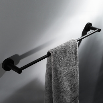 HIDEEP Bathroom Accessories Stainless Steel Black Towel Bar