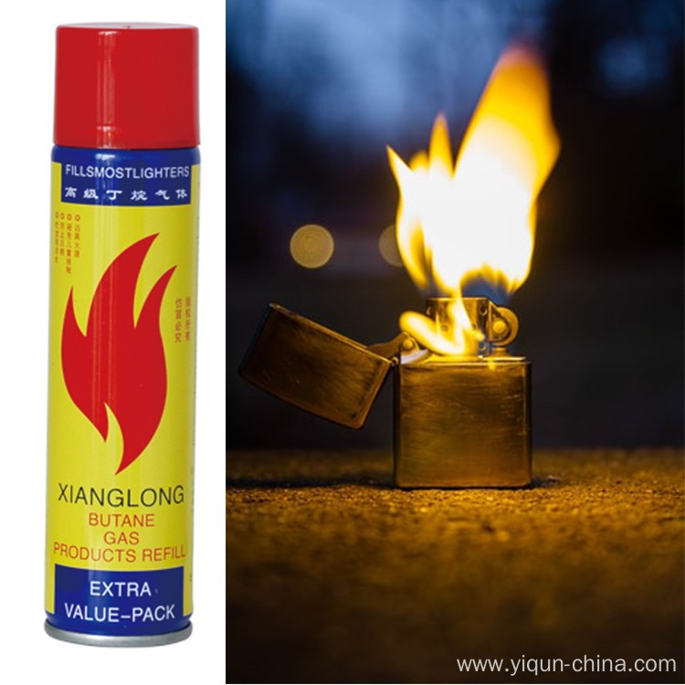 Refill Universal Butane Gas for Lighters
