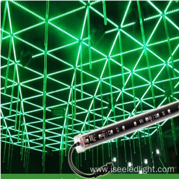 Falling star 3d DMX RGB LED tube 16W