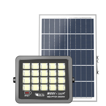 300W commercial solar flood lights