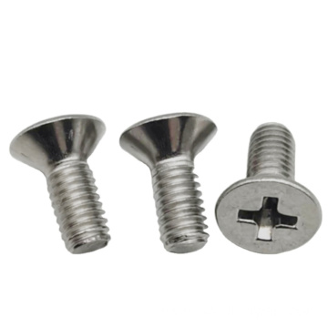 Flat 1/4-20 Head Truss Machine Screw Bolt