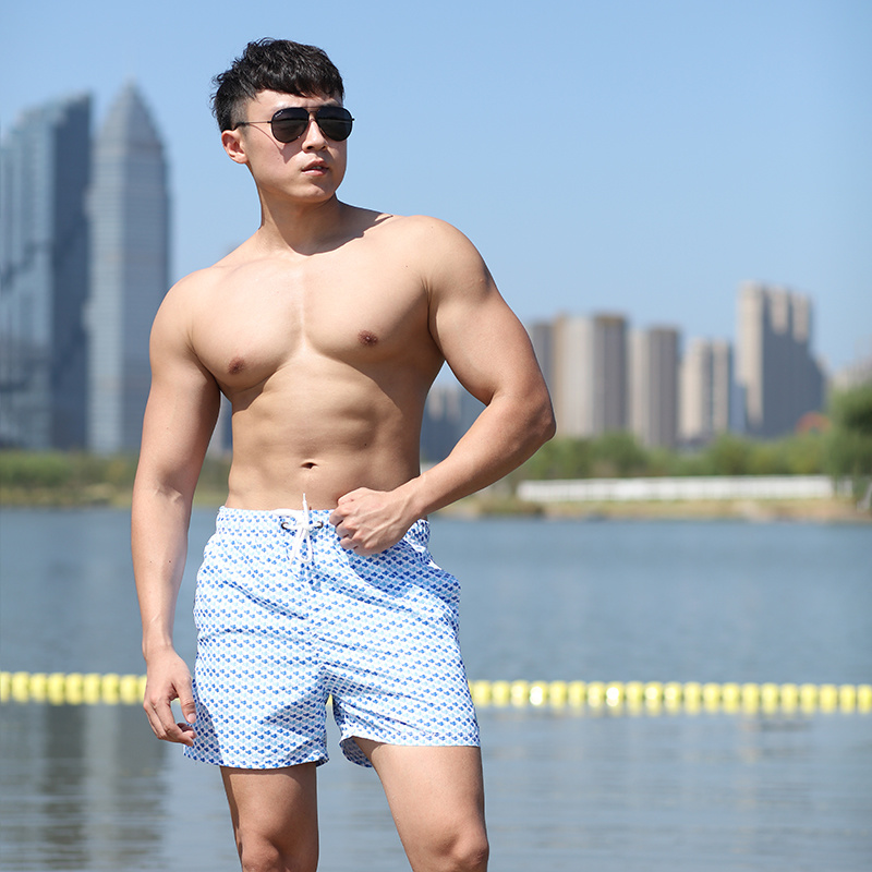 120GSM Quick-dry Men's Swimming Shorts