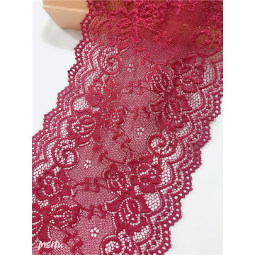 Red Sexy Wide Elastic Lace Trim for Underwear