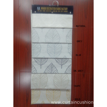 High Quality Polyester Linen Jacquard Curtains