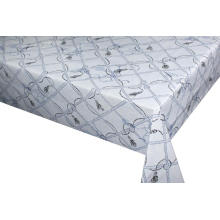 Elegant embossed Tablecloth with Non woven backing