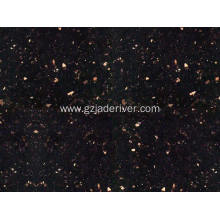 Polished Black Galaxy Granite Stone Table Top
