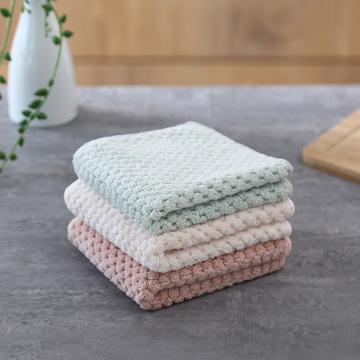 Kitchen Towel Wiping Rags Efficient Super Absorbent Cleaning Cloth Home Washing Dish Kitchen Cleaning Towel Kitchen Accessories