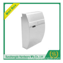 SMB-005SS 2016 Popular Design Free Standing Die Cast Sale Metal Mailbox For Letters