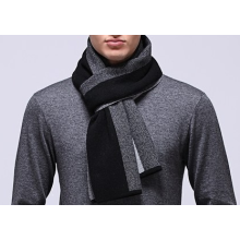 Striped Cashmere Knitted Scarf