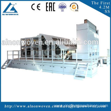 High quality ALSL-1550 price carding machine for cotton double doffer carding machine