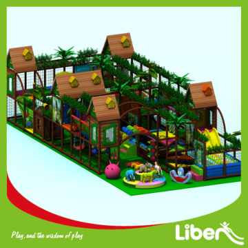 Daycare center indoor amusement playground