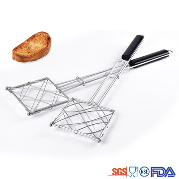BBQ Accessories Basket with Wooden Handle