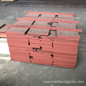 Chromium Carbide Vertical Mill Hardfacing Overlay Liner