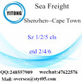 Shenzhen Port LCL Consolidation To Cape Town