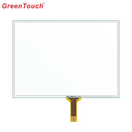 "4 wire 5"" Planar Waterproof Resistive Touchscreen"