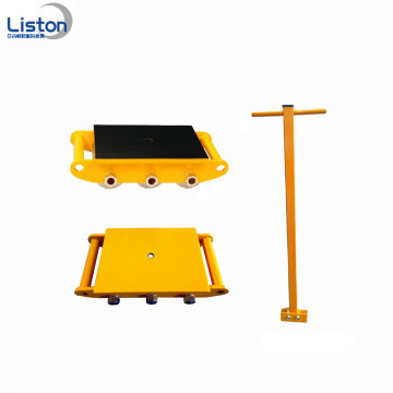 12 Ton Cargo Trolley Machinery Moving Skate