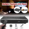 Mini DVD Player USB HD Portable Multiple Playback ADH DVD CD SVCD VCD MP3 Disc LED Display Player Home Theatre System 110V-240V
