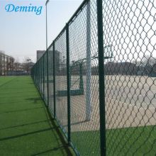 Galvanized Chain Link Diamond Wire Mesh Fence Price
