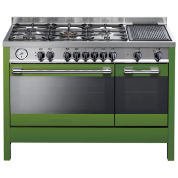 Gas Hob with Oven with Grill