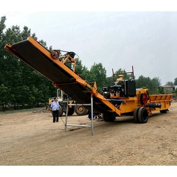 Can be customized drum type wood chipper
