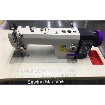 FOXSEW Computerized Top and Bottom Feed Lockstitch Sewing Machine