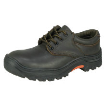 Low Cut Full Grain Leather Safety Shoes
