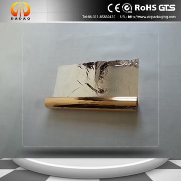 Both-side Metallic polyester film with high barrier