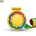 Best price metal gold rainbow medal
