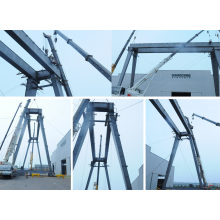 Single beam Semi Gantry Crane