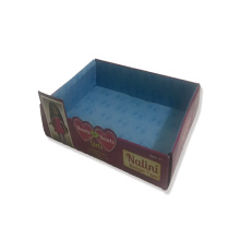 Large Display box cardboard clear